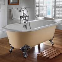 Ванны чугунные всех размеров и форм с регулируемыми по высоте ножками. Доставка, установка с подключением.